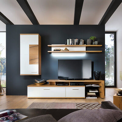 now by h lsta lack hochglanz wohnwand anbauwand schrankwand now time neu ovp eur. Black Bedroom Furniture Sets. Home Design Ideas