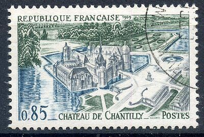 Stamp / Timbre France Oblitere N° 1584 Chateau De Chantilly