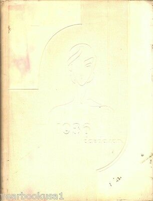 Texas State College for Women Denton 1936 Yearbook Annual University