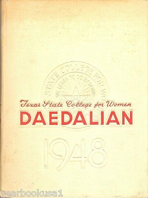 Texas State College for Women Denton 1948 Yearbook Annual University