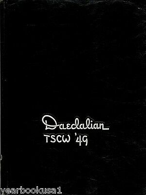 Texas State College for Women Denton 1949 Yearbook Annual University