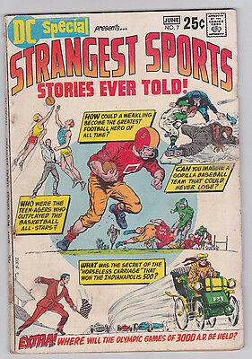 DC Special #7 Strangest Sports Stories Ever Told 1970 DC 3.5 VG- to 4.0 VG