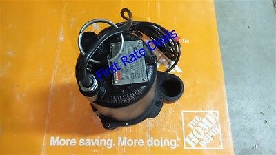 Dayton 3BB88 Submersible Sewage Pump 1/2 HP Automatic Tether Switch 2 in inch