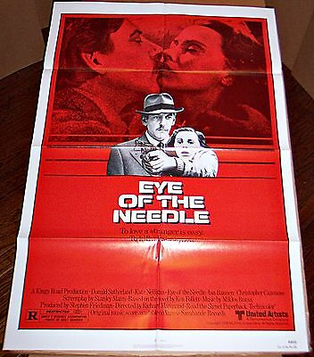 Eye Of The Needle (1981) Donald Sutherland * Orig 27X41 1-Sheet