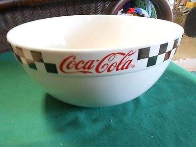 "Great Collectible ""Gibson"" COCA COLA Mixing BOWL 9"" diameter.....SALE"