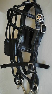 Miniature Horse COMPLETE ~ USA Made ~ Leather Driving Harness with extras