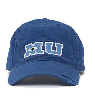Disney Park M U Monsters University Adult Size Baseball Hat Cap NEW