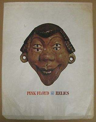 PINK FLOYD Relics 1971 Harvest Records US Promo Only LP Shopping Bag PSYCH!