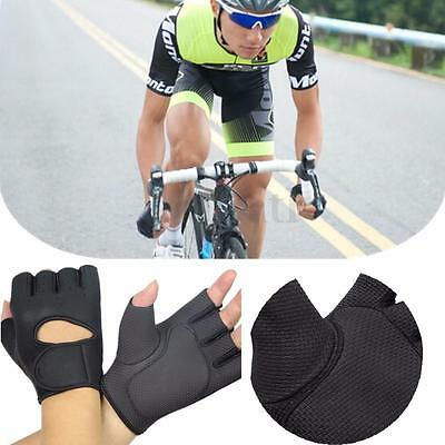 Outdoor Breathable Shockproof Cycling Bike Bicycle GEL Sports Half Finger Glove