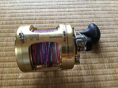 Shimano Tiagra 16 loaded with. Braid