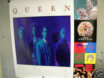 QUEEN Large Dynamic 1991 PROMO POSTER super mint condition