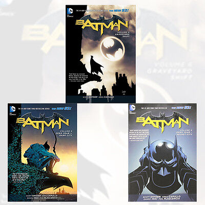 Scott Snyder Batman Collection Vol (4,5,6) 3 Books Set (Zero Year - Secret City)