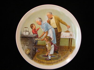 Knowles 1982 The Csatari Grandparent Collector Plate