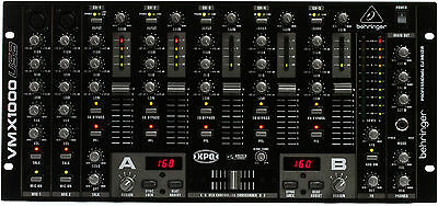 New Behringer VMX1000USB DJ Mixer Buy it Now! Make Offer! Auth Dealer! Best Deal