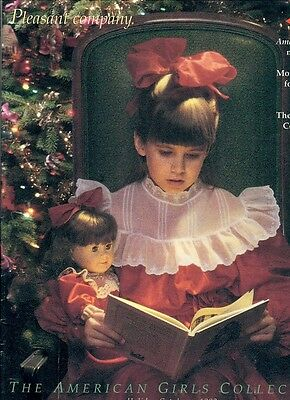 1992 Retired Pleasant Company Catalog! Samantha Christmas Cover! Our New Baby