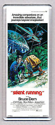SILENT RUNNING movie poster LARGE 'WIDE' FRIDGE MAGNET - SCI-FI CLASSIC!