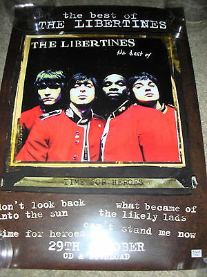 The Libertines - Best of the Libertines - PROMO POSTER
