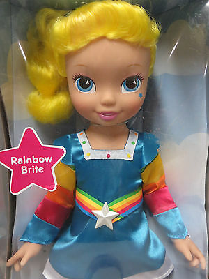 "Rainbow Brite 15"" Doll Playmates Toys 2009 New in Box"