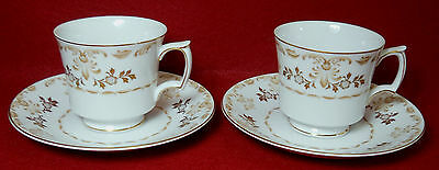 "Cup /& Saucer Sets 2-5//8/"" HARMONY HOUSE china STARLIGHT pattern Two 2"