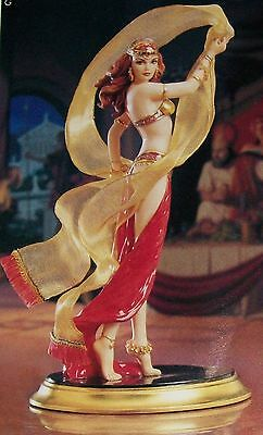 """NIB SALOME (RED)  10.5"""" FRANKLIN MINT Signed by the Artist +COA NEW SOLD IN 1990"""