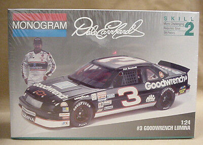 old Sealed Monogram model NASCAR # 3 GOODWRENCH Dale Earnhardt