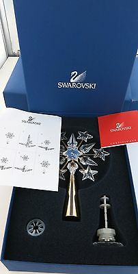 Rare Swarovski Christmas Tree Topper Mint In Box. Never Been Out Of Box. 632785