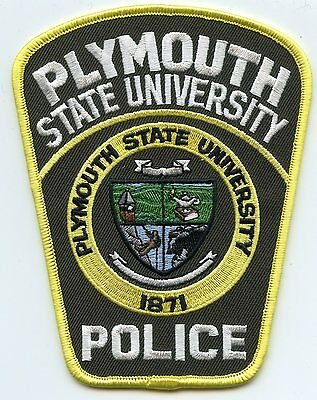 Plymouth State University New Hampshire Nh Police Patch