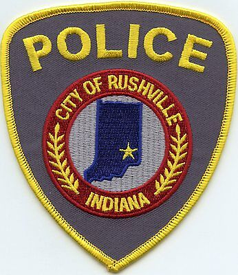 Rushville Indiana In Police Patch
