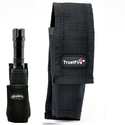Trustfire Nylon Pouch Holster Case for Tactical Flashlight Torch (Φ40mm - Φ60mm)