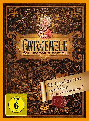 Catweazle - Die komplette Serie 1+2 - Collector's Edition # 6-DVD-BOX-NEU
