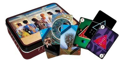 Pink Floyd Backart tin containing two packs of playing cards   (nm)