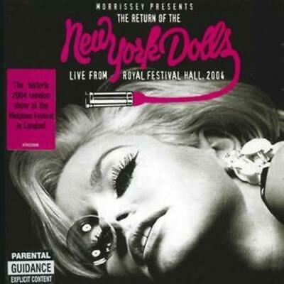 New York Dolls : Morrissey Presents the Return of the New York Dolls - Live CD