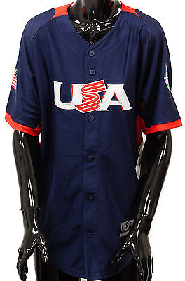 Genuine Stuff Team USA World Baseball Classic Authentic Youth Jersey Official GS