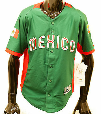 Genuine Team Mexico World Baseball Classic Authentic Jersey Official MLB Youth