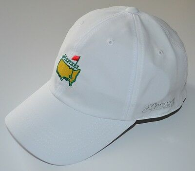 2016 MASTERS (WHITE) SLOUCH PERFORMANCE Golf HAT from AUGUSTA NATIONAL
