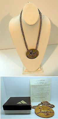 Vintage Ancient 2nd C. Chinese Flying Horse of Kansu Pendant ALVA Museum Replica