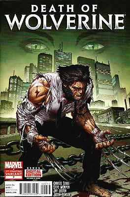 Death of Wolverine #2 3rd Print Marvel 2015
