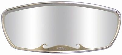 "CIPA Wave Mirror  17"" x 7"" Chrome"