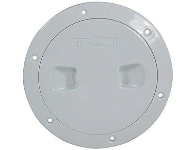 """Standard Inspection Ports ABS Plastic - 6"""" White"""