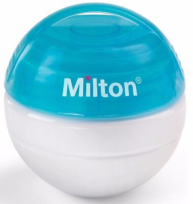 Blue Milton Mini Portable Soother Steriliser + 10 Tabs Free For On The Go