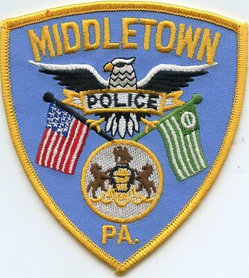 Middletown Pennsylvania Pa Police Patch