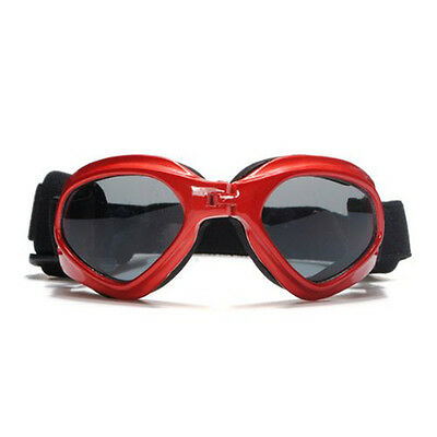 Lunettes Solaire For Protection des Yeux Chien Chat Animal Rouge
