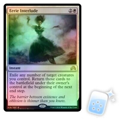 English Shadows Over Innistrad MTG Magic 1x Drownyard Temple Foil NM-Mint