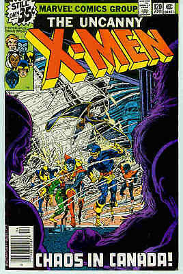 (Uncanny) X-Men # 120 (John Byrne, Alpha Flight cameo) (USA, 1979)