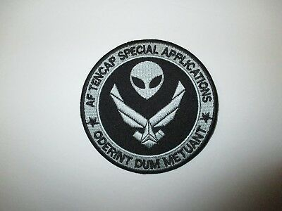 b7699 US Air Force Groom Black Ops AF Tencap Special Applications IR24D