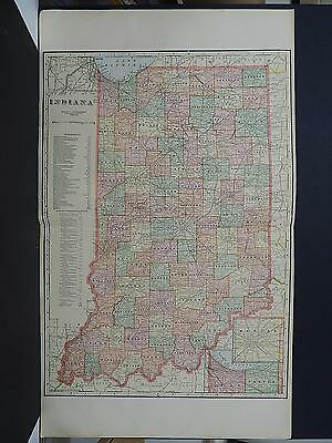 Indiana, State Map, 1922 J20#11