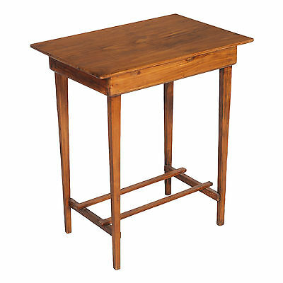 TAVOLINO SCRITTOIO 800 CONSOLE LEGNO MASSELLO antique country sidetable - MA L91