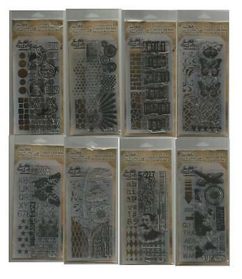 Tim Holtz Stamper's Anonymous Collection 8 sets of Stamps & Stencils