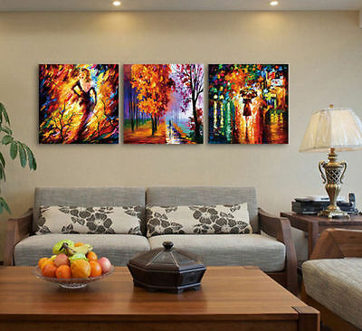 Modern Abstract Landscape Canvas Oil Painting Knife Wall Decor Art NO Framed