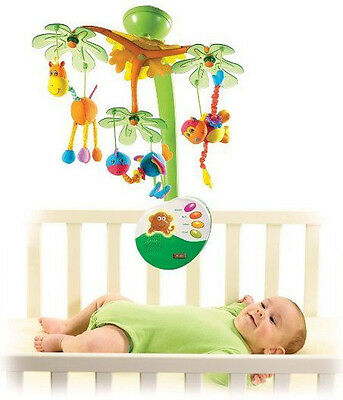 Tiny Love Sweet Island Dreams Baby Mobile, With Calming Night Light 00460-003